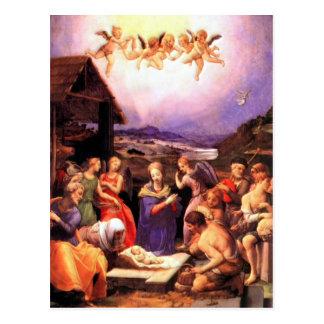 Verering van de Herders - Bronzino Briefkaart