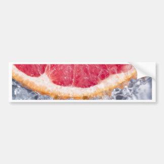 Verfrissende Grapefruit Bumpersticker