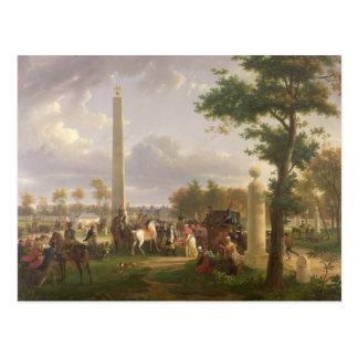 Vergadering tussen Napoleon I en Paus Briefkaart