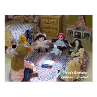 Vergadering van Uiterst kleine Doll: Wat IS een Briefkaart