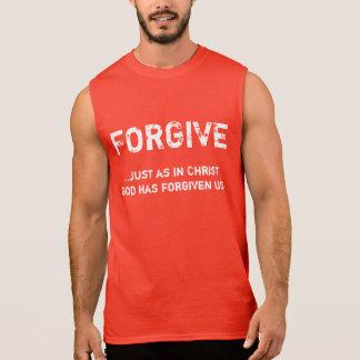 Vergeef - Mannen Sleeveless Overhemd T Shirt
