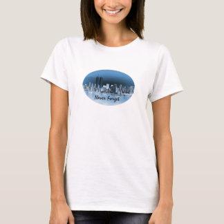 Vergeet 11 nooit de HerdenkingsHulde van September T Shirt