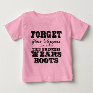 Vergeet de Pantoffels van het Glas, draagt Deze Baby T Shirts