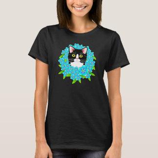 Vergeet me niet overhemd van de Kat van de Smoking T Shirt