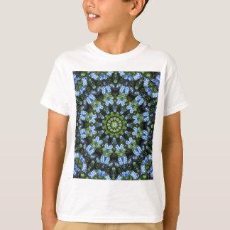 Vergeet-mij-nietjes, Bloem Mandala T Shirt