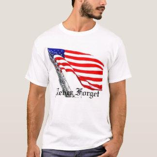Vergeet nooit de Vlag van de Ladder T Shirt