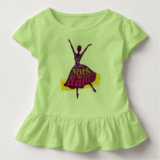 Vergeet nooit te dansen kinder shirts