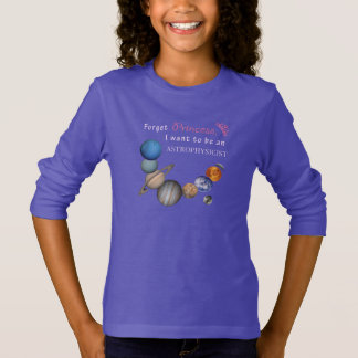 Vergeet Prinses - Astrophysicist T Shirt