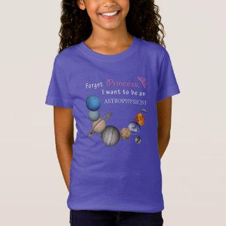 Vergeet Prinses - Astrophysicist T Shirt