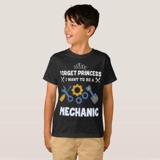 Vergeet prinses die ik heb willen om een t shirt