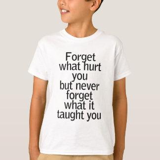 vergeet t shirt