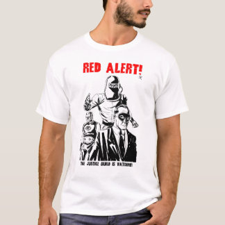 Vergeten jaren '50: Het Rode Alarm van het Gilde T Shirt