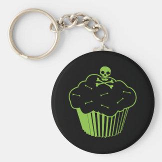 Vergift Cupcake Basic Ronde Button Sleutelhanger