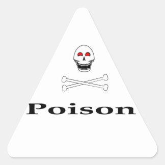 Vergift Driehoek Sticker