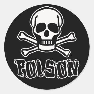 Vergift Ronde Sticker