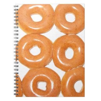 Verglaasde Donuts Ringband Notitieboek