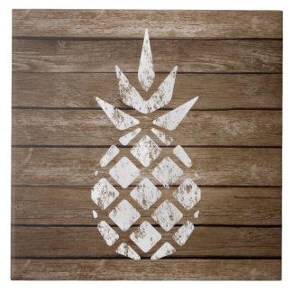 Vergoelijk Ananas | van de Kunst van de Zegel Keramisch Tegeltje