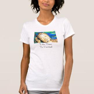 Vergt het hoofdschot van Budda, Tijd zich af te T Shirt