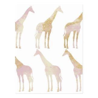 Vergulde Giraffen 1 Briefkaart