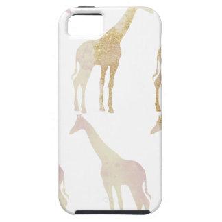 Vergulde Giraffen 1 Tough iPhone 5 Hoesje
