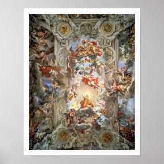 Verheerlijking van Reign van Paus Urbanus VIII (15 Poster