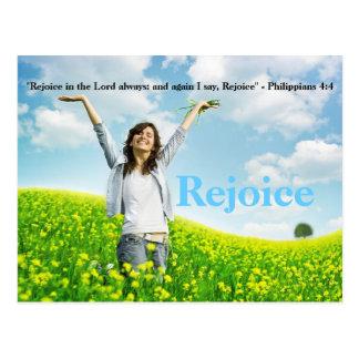 Verheug me in het Christelijke Briefkaart Art. van