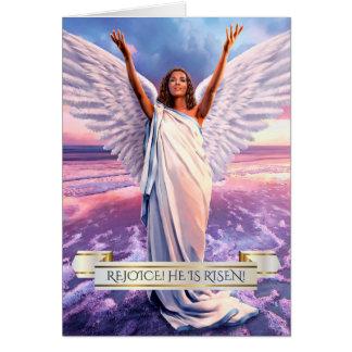 Verheug me. Jesus is toegenomen. De Wenskaarten