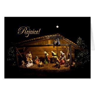 Verheug me Kerstkaart Briefkaarten 0