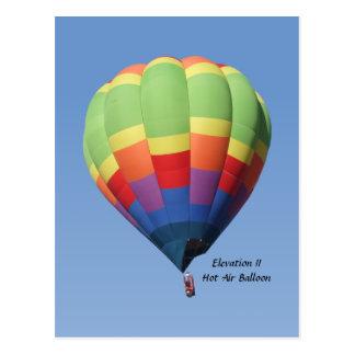 Verhoging II het Briefkaart van de Ballon van de H Wenskaart