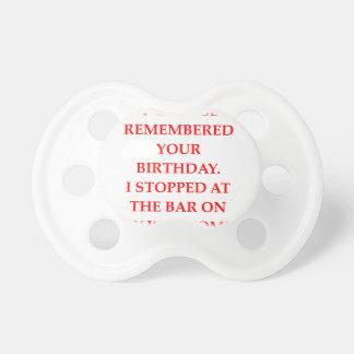 verjaardag baby speentjes