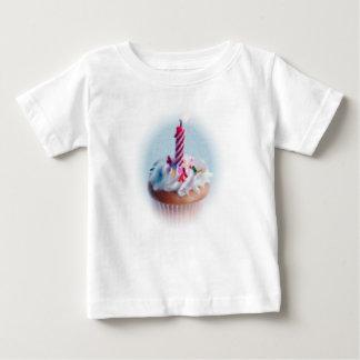 Verjaardag Cupcake Baby T Shirts