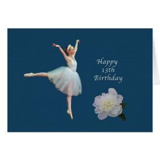Verjaardag, dertiende, Ballerina en de Witte Kaart