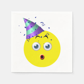 Verjaardag Emoji Wegwerp Servetten