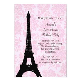 Verjaardag in Snoepje Zestien van Parijs Kaart