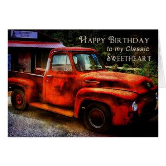 Verjaardag - Liefje (Vriend) Briefkaarten 0