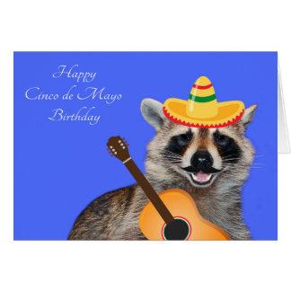 Verjaardag op Cinco DE Mayo Wenskaart