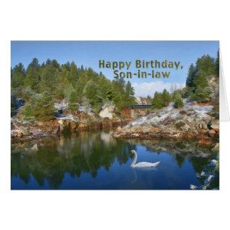 Verjaardag, Schoonzoon, het Meer van de Berg, Briefkaarten 0