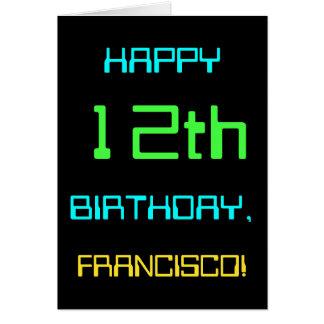 Verjaardag Themed twaalfde van de Kaart