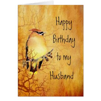 Verjaardag van de Echtgenoot van de Vogel van Briefkaarten 0