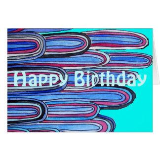 Verjaardag van de Golven van Zentangle de Oceaan r Kaarten