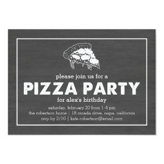 Verjaardag van het Bord van de Partij van de pizza Kaart