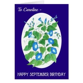 Verjaardag van September van de Glorie van de Briefkaarten 0