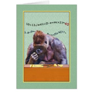 Verjaardag, veertigste, Gorilla bij Bureau Kaart