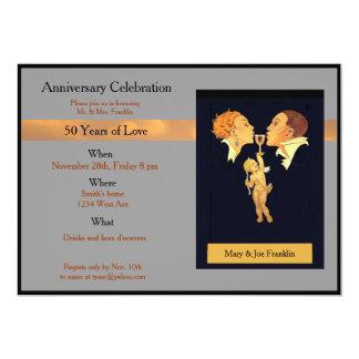 verjaardags viering 12,7x17,8 uitnodiging kaart