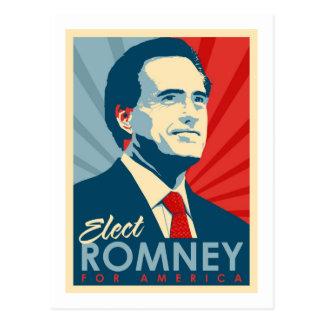 Verkies Mitt Romney voor President Briefkaart