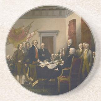 Verklaring van Onafhankelijkheid door John Zandsteen Onderzetter