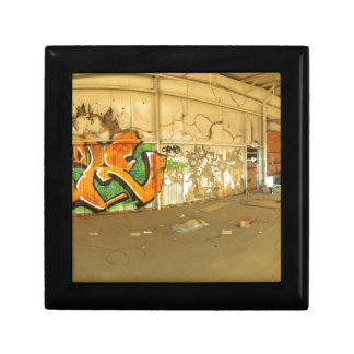 Verlaten Graffiti Decoratiedoosje