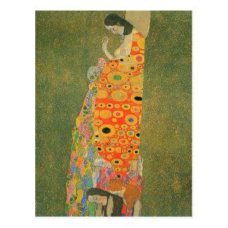 Verlaten Hoop door Gustav Klimt Briefkaart