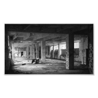 verlaten stedelijke binnenlandse ruimten foto