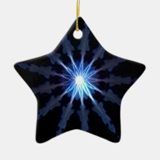 Verlichting Keramisch Ster Ornament